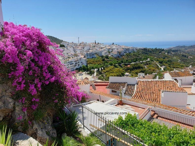 Frigiliana views to Costa del Sol