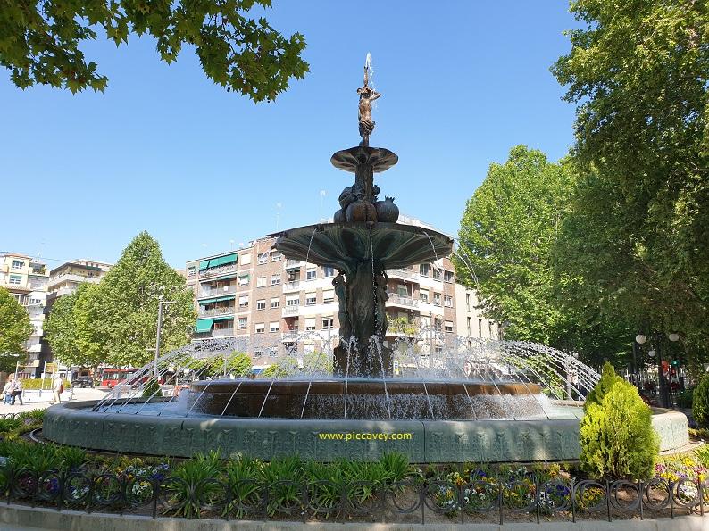 Fuente de las Batallas Granada Spain Puerta Real