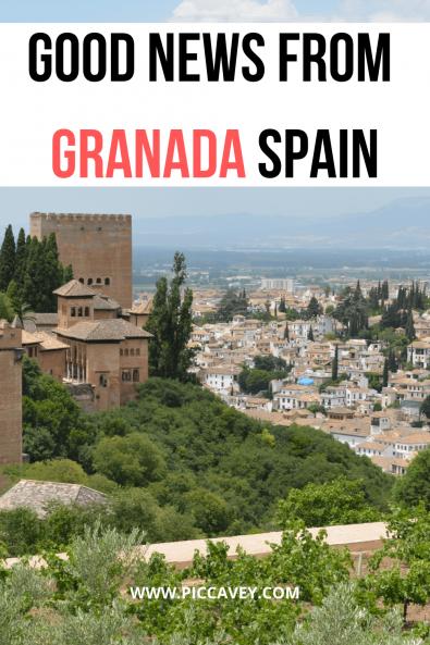 Good news from Granada Spain