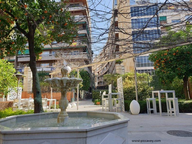Garden Patio at Hospes Palacio de los Patos Granada
