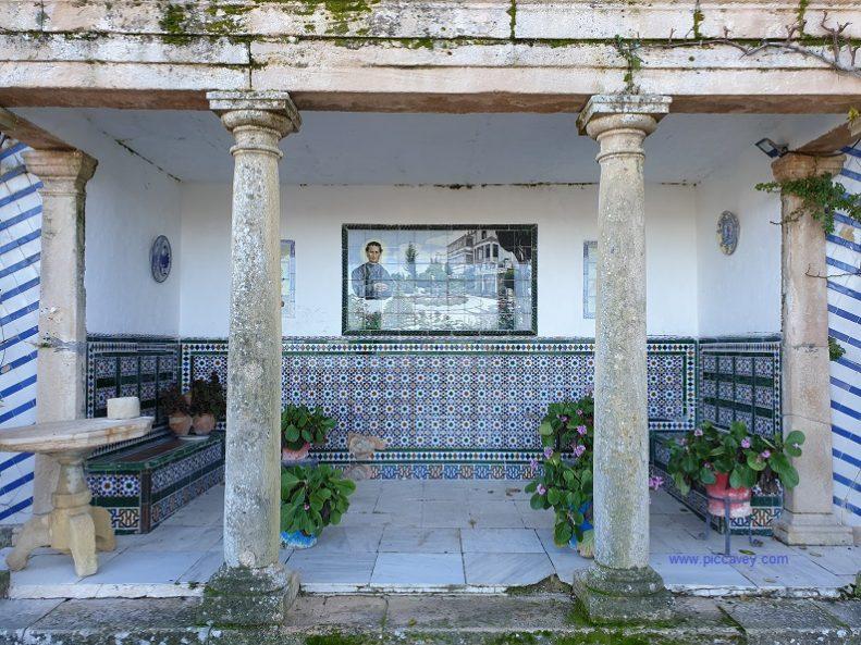 Garden at Palacio Salvatierra Ronda Malaga