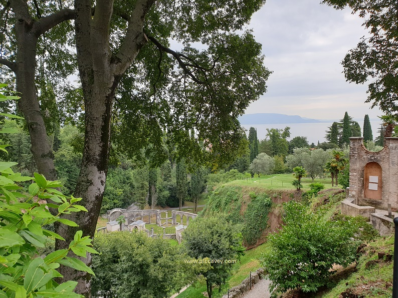 Gardens overlooking Lake Garda