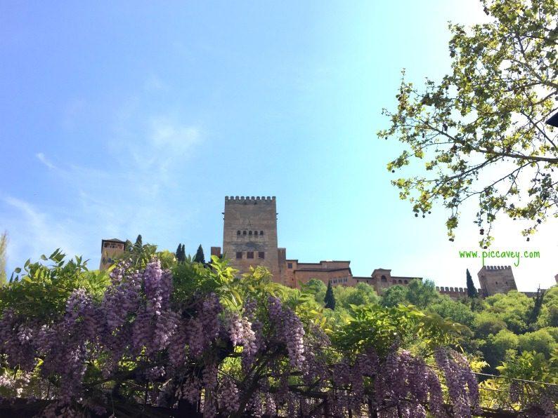 Gay friendly Granada Alhambra palace