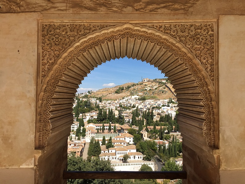 Generalife Alhambra Gardens Spain