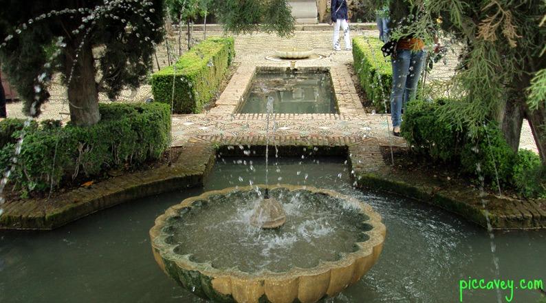 gardens in granada