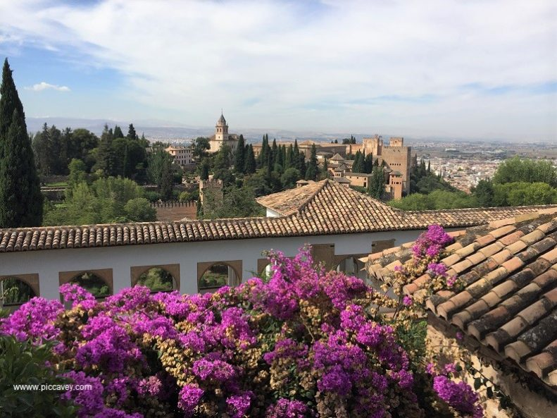 Generalife Garden Alhambra Granada by piccavey