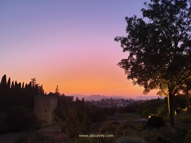 Generalife Sunset Alhambra FEX Festival