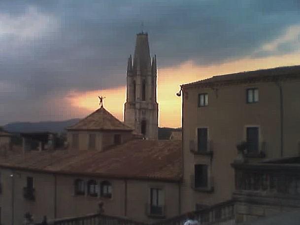 Girona Sunset Catalonia Spain Blog