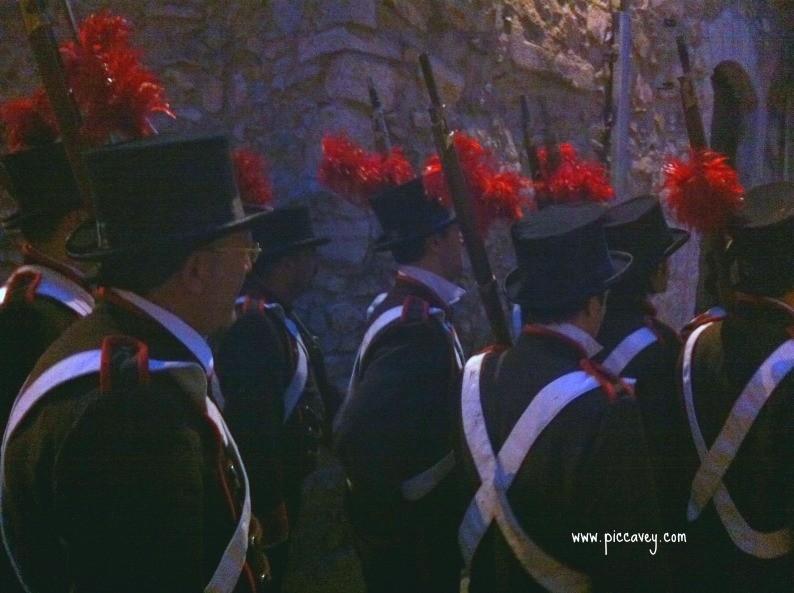 Girona battle renactment