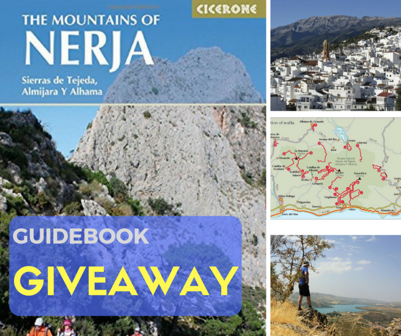Giveaway Nerja Walking Guide