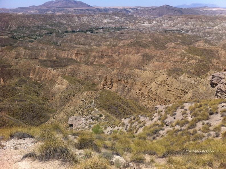 Gorafe Purullena Guadix North of Granada Spain