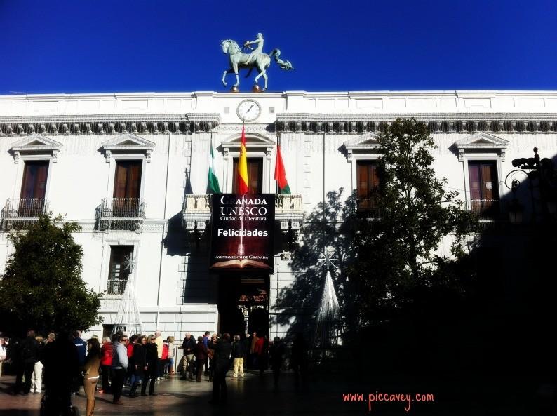 Granada Christmas Ayuntamiento