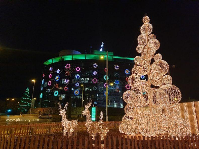 Granada Christmas Lights Spain 2020