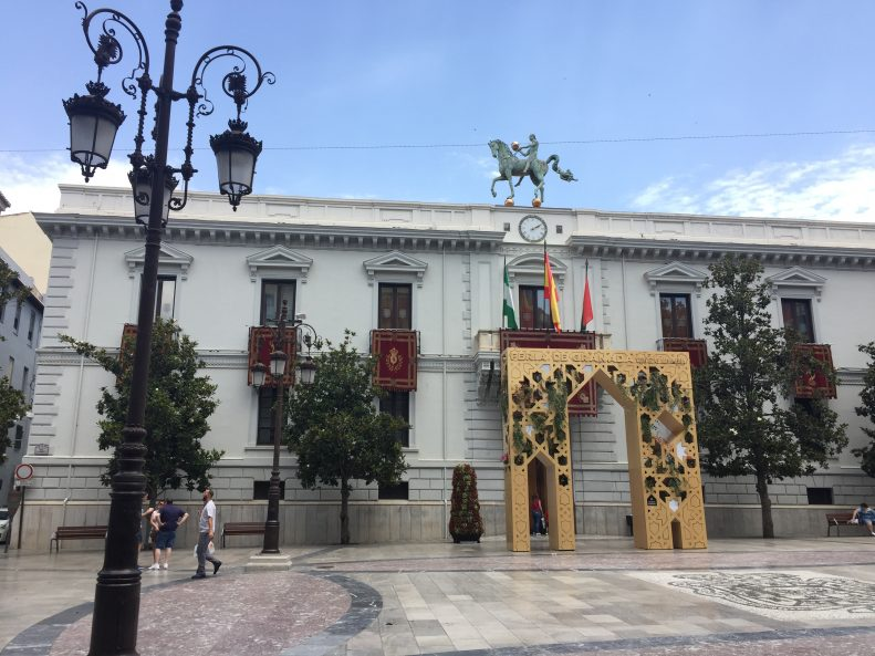Granada City Town Hall Ayuntamiento Plaza Carmen