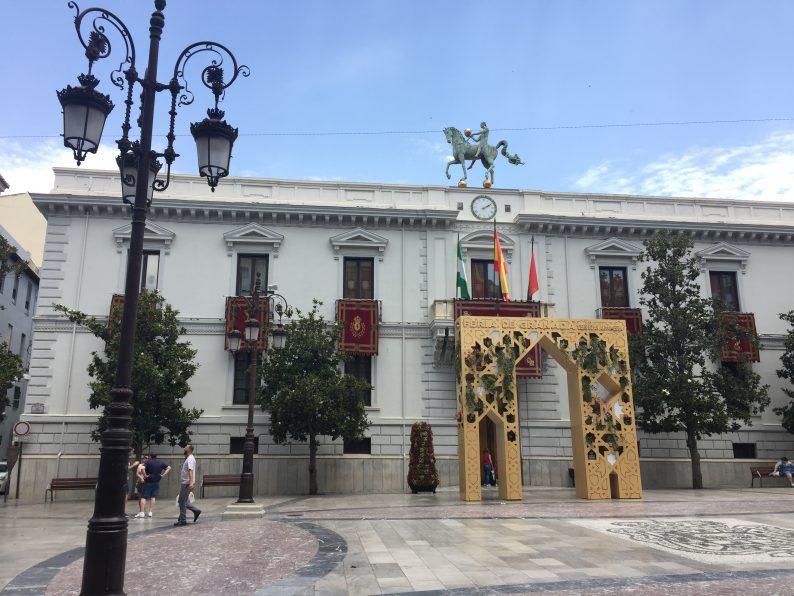 Granada City Town Hall Ayuntamiento Plaza Carmen