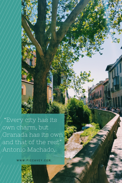 Granada Spain Quote Antonio Machado.
