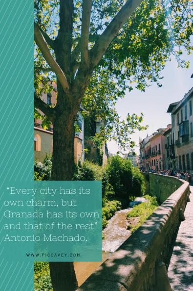 Granada Spain Quote Antonio Machado.