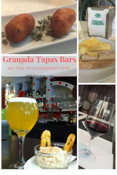 Granada Tapas Bars