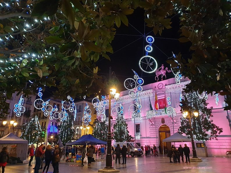 Christmas Spain.Granada Christmas Activities Navidad In Andalucia Spain