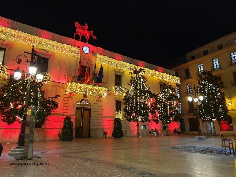 Granada Town Hall December 2020