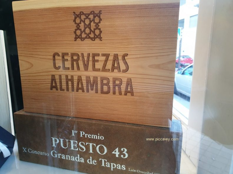 Granada de Tapas 2019 Tapa Puesto 43