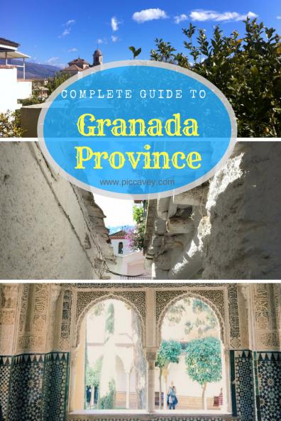 Granada province Guide