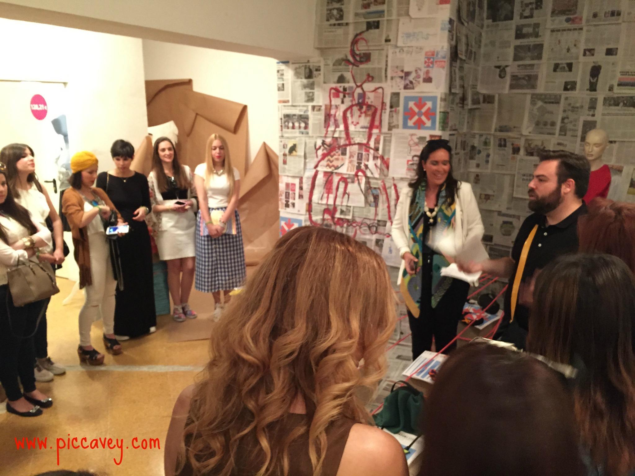 Granada shopping 255 moda Pink Blogger tour