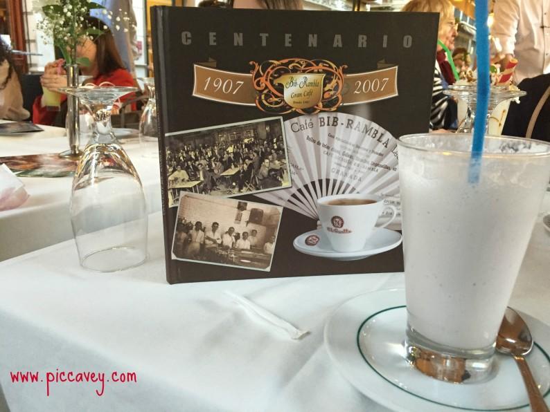 Granada shopping Gran Cafe Bib Rambla