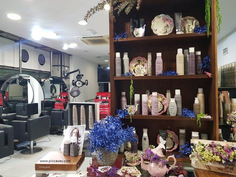 Hairdresser Santiago del Rio Granada Spain