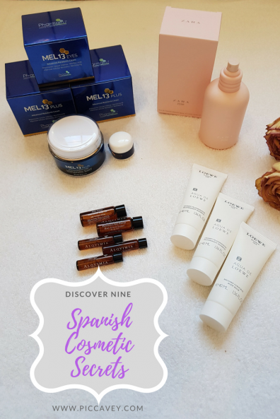 Spanish Cosmetic Secrets