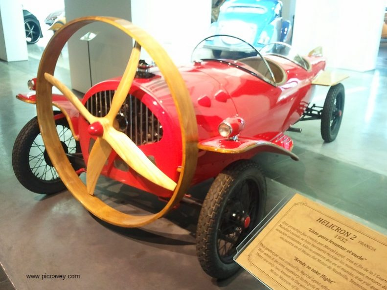 Helicron Car Malaga Museum