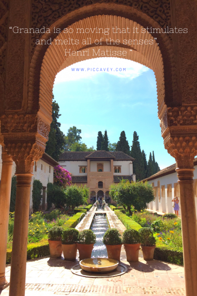 Henri Matisse Granada quotes