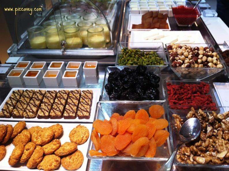Hospes Palau del Mar Valencia Breakfast