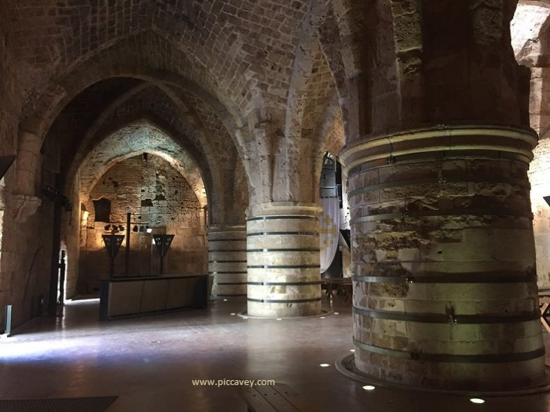 Hospitallers Fortress Knights Hall Acre Israel