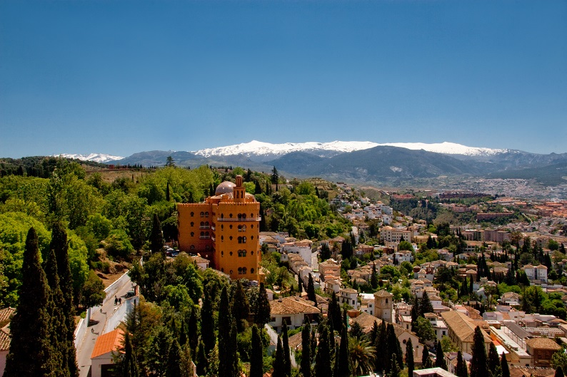 New 5 star hotel – Hotel Alhambra Palace in Granada Spain