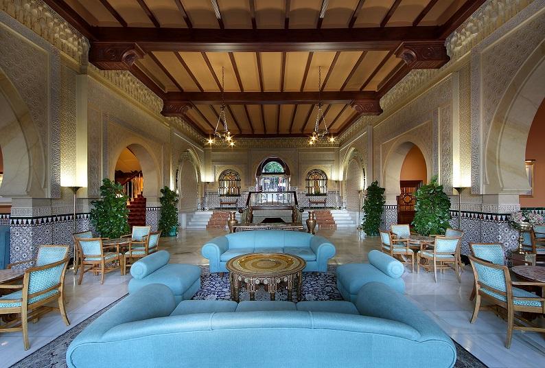 Hotel Lobby granada Spain