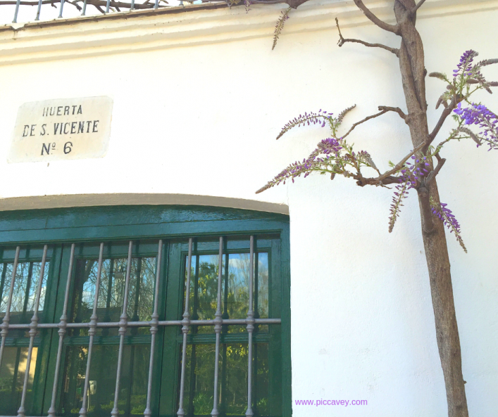 Huerta San Vicente Granada Spain F G Lorca