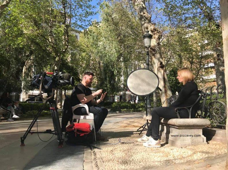 ITV Granada Reports TV Interview Fixer in Granada