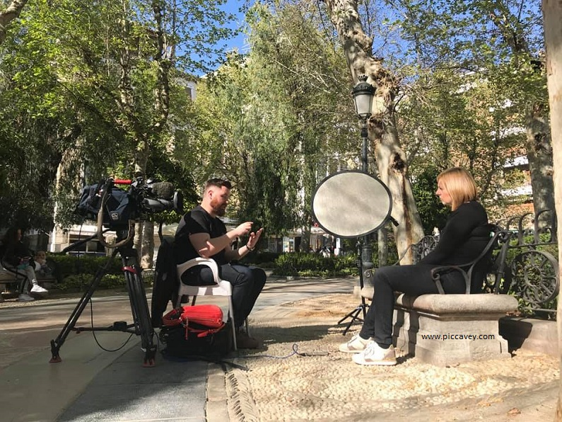 ITV Granada Reports TV Interview Fixer in Granada