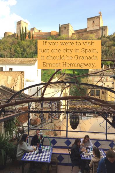 Ernest Hemingway Granada Quotes