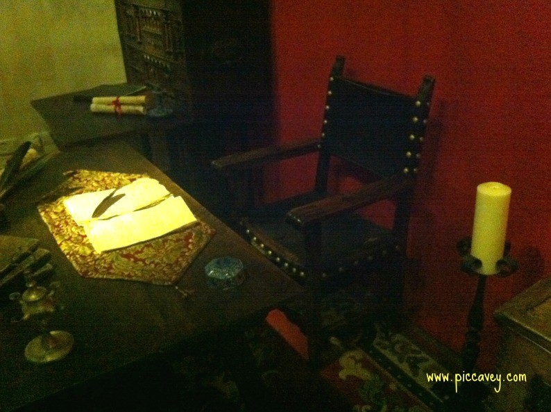 Inquisitioners Chair in Granada Spain by piccavey