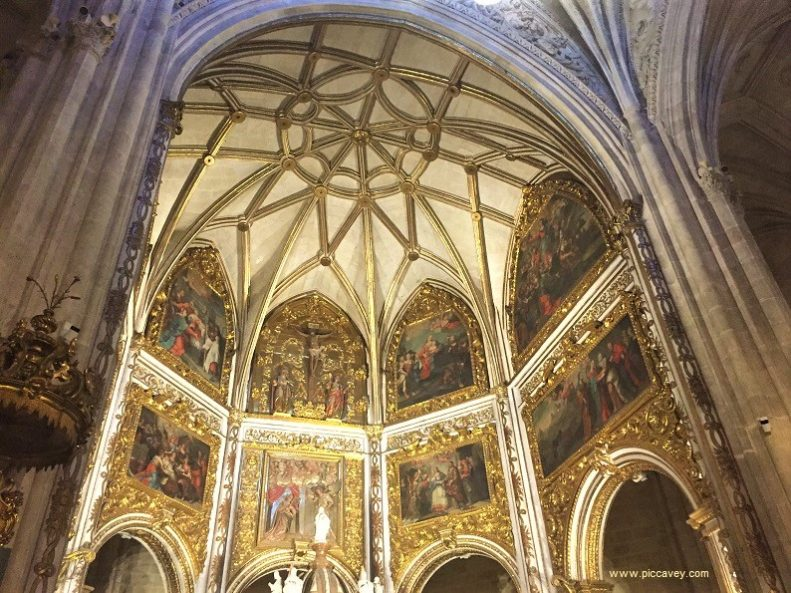 Inside Almeria Cathedral Spain