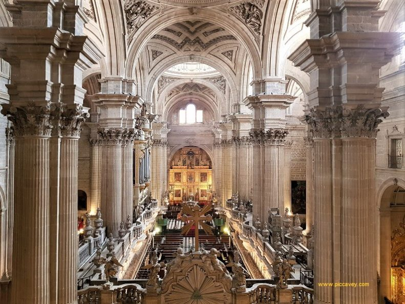 Inside Jaen Cathedral Spain