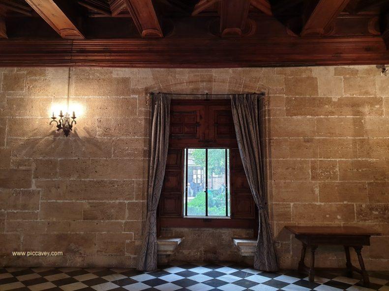 Inside Lonja de Seda UNESCO WH Valencia