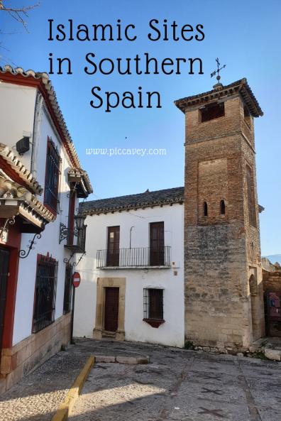 Mosque Minaret in Ronda Malaga Spain