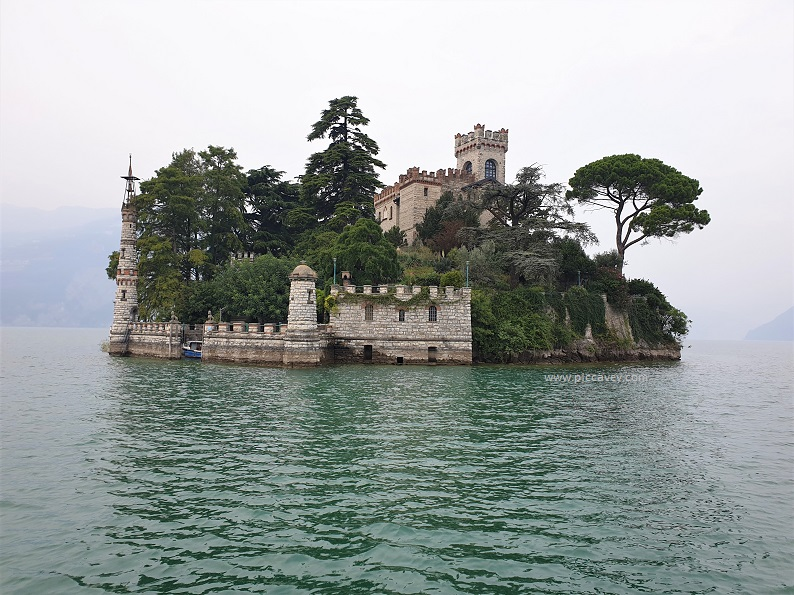 Isola di Loreto Lago Iseo Lombardy