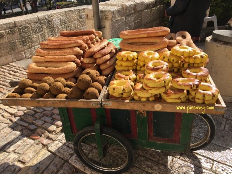 Jerusalem Bread stall by piccavey