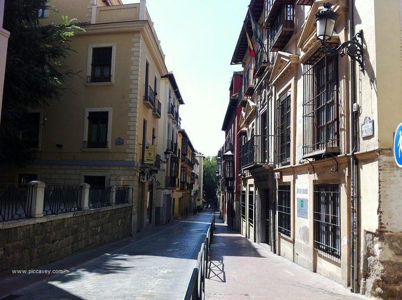 Jewish Quarter Granada Realejo San Matias Spain Blog