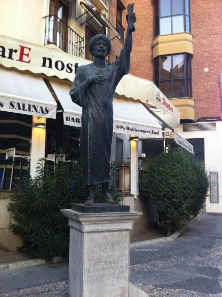 Jewish Quarter Granada Realejo Spain Blog statue