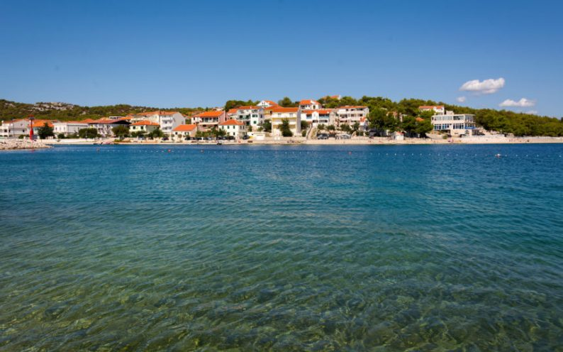 jezera village on murter island in croatia